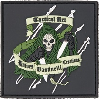 BASTINELLI CREATIONS REAPER PVC MORALE PATCH