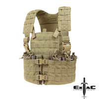 CONDOR TACTICAL MODULAR CHEST SET COYOTE TAN
