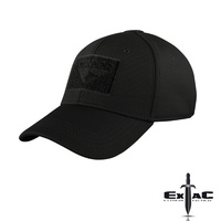 CONDOR FLEX TACTICAL CAP BLACK- S