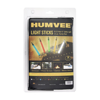 HUMVEE SAFETY LIGHT GLOW STICKS 12 PACK
