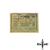 HUSS AUSTRALIA FLAG MULTICAM WOVEN MORALE PATCH