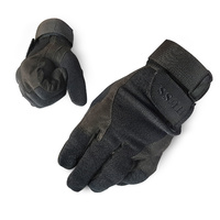HUSS OPS TACTICAL GLOVES BLACK