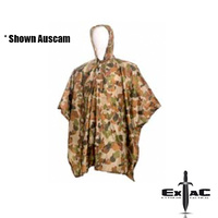 HUSS TACTICAL NYLON PONCHO OLIVE DRAB