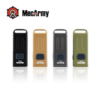 MECARMY SGN3 MULTIFUNCTION FLASHLIGHT BLACK
