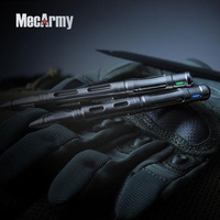MECARMY TPX22 TITANIUM TACTICAL PEN WITH TRITIUM