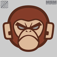 Monkey Head Logo - Color : SWAT