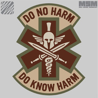 Do No Harm - Spartan - Color : SWAT