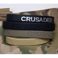 MSM PORK EATING CRUSADER BAND- LARGE- SAGE GREEN