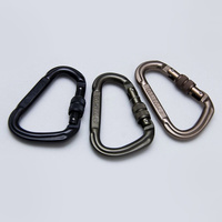 MSM PEAR-S CARABINER- DUSTY BROWN