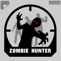 MSM ZOMBIE HUNTER DECAL