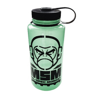 MSM MONKEY LOGO NALGENE WIDE MOUTH 1000ML GLOW IN THE DARK