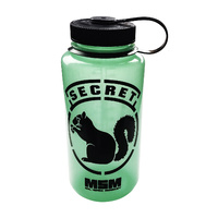MSM SECRET SQUIRREL NALGENE WIDE MOUTH 1000ML GLOW IN THE DARK