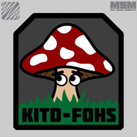 MSM KITD-FOHS WOVEN MORALE PATCH- FULL COLOUR