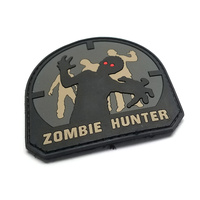 MSM ZOMBIE HUNTER PVC MORALE PATCH- SWAT