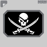 MSM PIRATE SKULL FLAG DECAL - SWAT