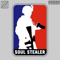 MSM SOUL STEALER WOVEN MORALE PATCH- FULL COLOUR
