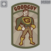MSM GOODGUY PVC MORALE PATCH- ACU