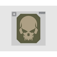 MSM PIRATE SKULL LARGE PVC MORALE PATCH- SWAT