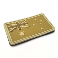 MSM AUSTRALIA FLAG PVC MORALE PATCH- MULTICAM