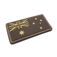 MSM AUSTRALIA FLAG PVC MORALE PATCH- URBAN