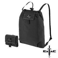 MAPEDITION ROLLYPOLY FOLDING BACKPACK - BLACK