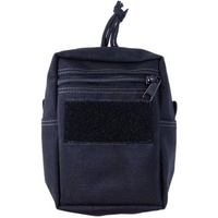 MAXIEDITION VERTICAL G.P POUCH - BLACK