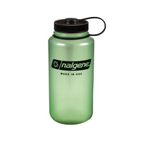 NALGENE WIDE MOUTH 1000ML GLOW WITH BLACK