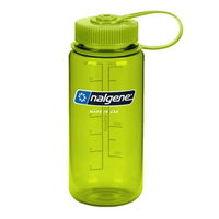 NALGENE WIDE MOUTH TRITAN BOTTLE 500ML GREEN W/ GREEN