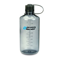 NALGENE NARROW MOUTH TRITAN BOTTLE 1000ML GREY