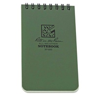 "RITE IN THE RAIN 5"" X 3"" ALL WEATHER NOTEBOOK OLIVE DRAB"