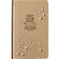 RITE IN THE RAIN 4 3/4 X 7 1/2 BOUND BOOK TAN