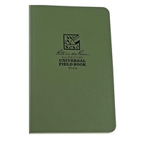 RITE IN THE RAIN 4 5/8 X 7 1/4 FIELD-FLEX BOUND BOOK OLIVE DRAB