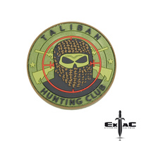 TALIBAN HUNTING CLUB PVC MORALE PATCH