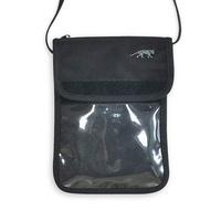 TASMANIAN TIGER NECK POUCH BLACK