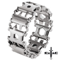 LEATHERMAN TREAD MULTI TOOL BRACELET STAINLESS (METRIC)