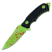Z-HUNTER ZOMBIE SPLATTER FIXED BLADE