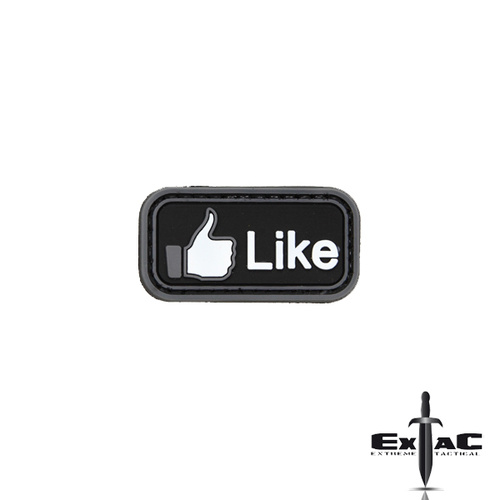 FACEBOOK LIKE PVC MORALE PATCH