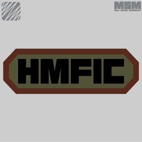 MSM HMFIC WOVEN MORALE PATCH- SWAT