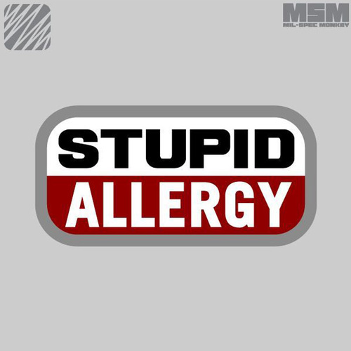MSM STUPID ALLERGY-SWAT