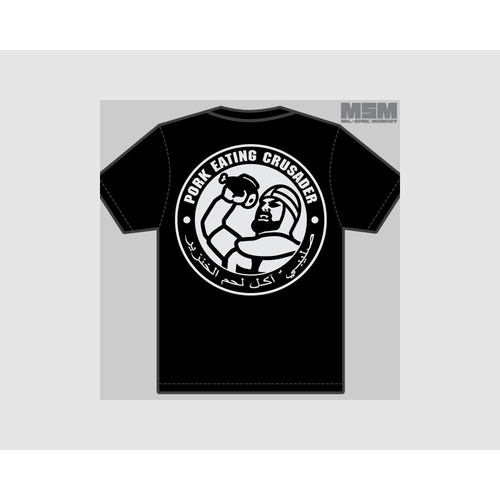 MSM PORK EATING T-SHIRT-BLACK L