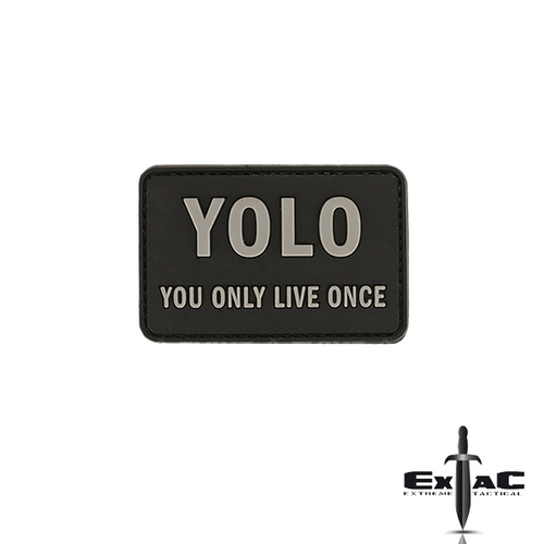 YOLO PVC MORALE PATCH