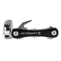KeySmart Key Holder | 8 Keys, Aluminium, Black