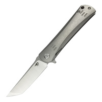 Bestech Kendo Folding Knife | CPM S35VN Blade Steel, Titanium Handle, BT1903A