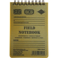 BCB International Water Proof Field Notebook | Includes Conversion Charts, Ruler, Pencil, BUS446
