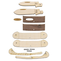 Case Cutlery Wooden Canoe Knife Kit