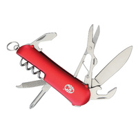 Coleman Ember II Folding Knife | 7 Tools, Red Finish, CMNSC015