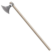 "Cold Steel Viking Axe | 52"" Overall, 1055 Carbon Steel, Hickory Handle, CS89VA"