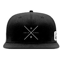 Cold Steel Embroidered Hat | Flat Brim, Snap Back | by Jiu Jitsu & Newaza Apparel, CS94HCSX