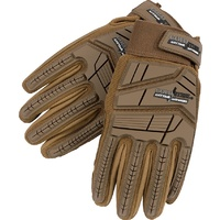 Cold Steel Tactical Gloves Tan - X Large | Cut Protection, Smooth Goatskin Leather Palms