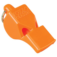 Fox 40 Classic Safety Whistle Orange | Keyring, Waterproof, FO34044